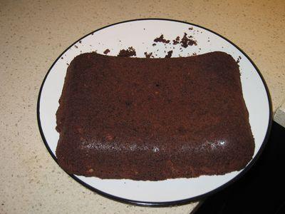 Brownie, a medio acabar
