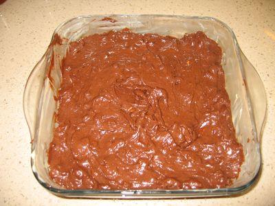Brownie, antes de hornear